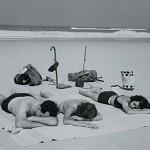 1935 Bain de mer